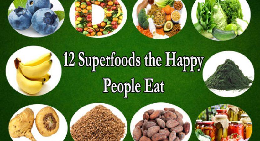 12 supper foods