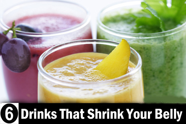 Drinks That Shrink Your Belly fat