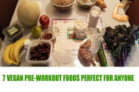 VEGAN PRE WORKOUT FOODS