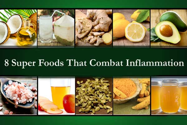 8 Super Foods That Combat Inflammation