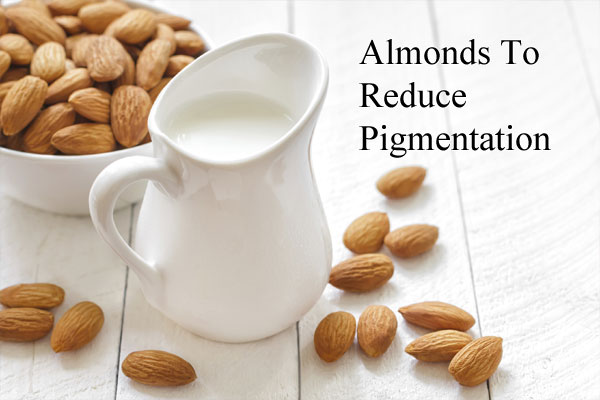 Almonds To Reduce Pigmentation