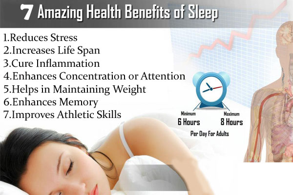Amazing Health Benefits Of Sleep