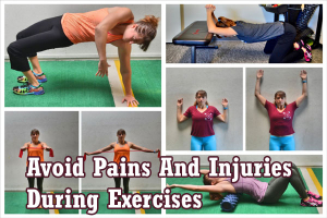 Avoid Pains And Injuries During Exercises