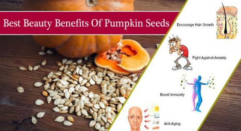Best Beauty Benefits Of Pumpkin Seeds