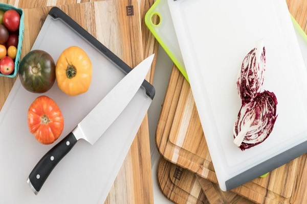 Bring a Flexible Cutting Board and a Small Knife