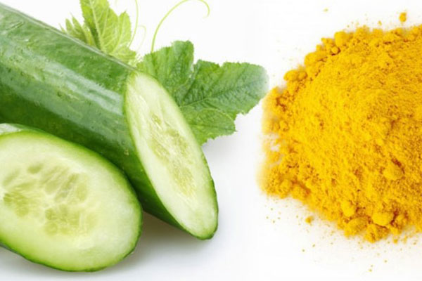Cucumber and Turmeric