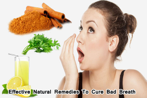 Natural Remedies To Cure Bad Breath