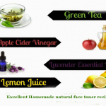 Excellent Homemade Natural Face Toner Recipes