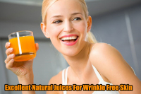 Natural Juices For Wrinkle Free Skin