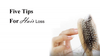 Five Tips For Hair Loss