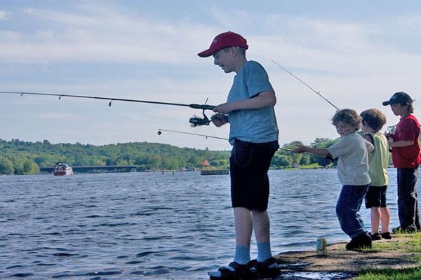 Focus on fishing