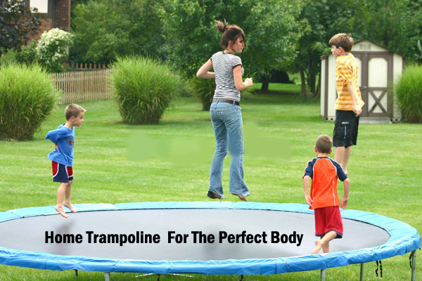Home trampoline
