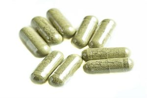 Green coffee pills