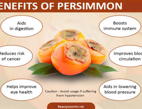 Health Benefits of Persimmon Fruit for Preventing Many Diseases
