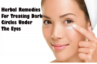 Herbal Remedies For Treating Dark Circles