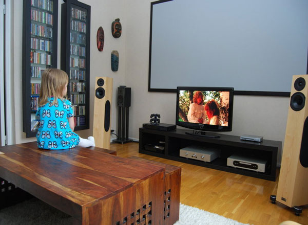 Home entertainment room