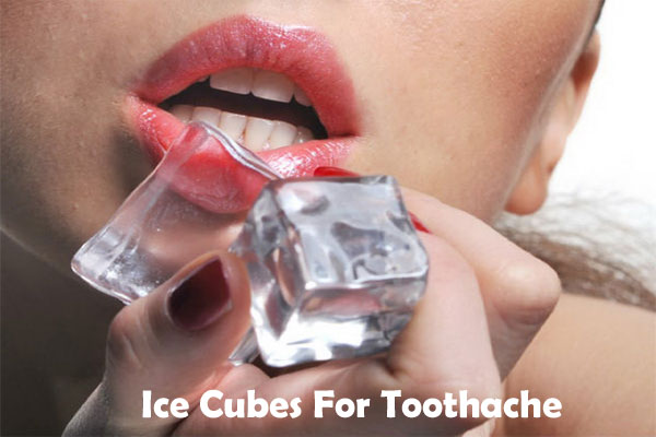 Ice Cubes for toothache