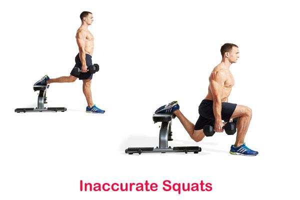 Inaccurate Squats