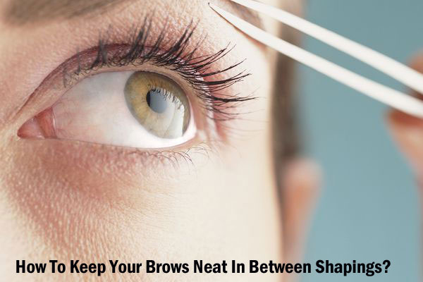Keep Your Brows Neat