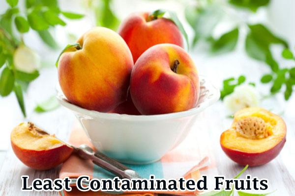 Least Contaminated Fruits