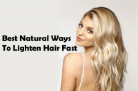 Best Natural Ways To Lighten Hair Fast