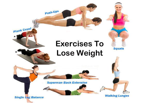 Lose Weight exercises