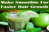 Make Smoothie For Faster Hair Growth