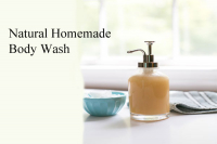 Natural Homemade Body Wash