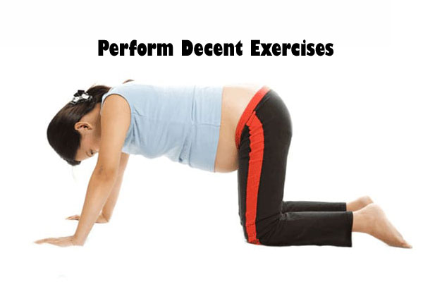 Perform Decent Exercises