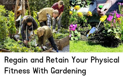physical fitness with gardening