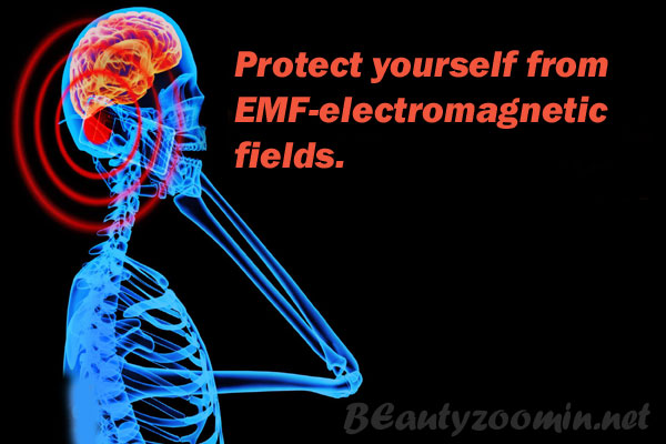 Protect yourself from EMF-electromagnetic fields