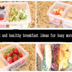 Quick And Healthy Breakfast Ideas For Busy Morning