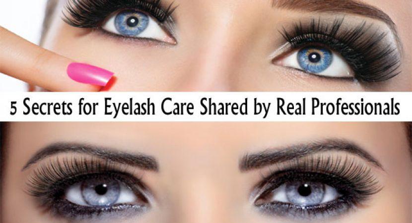 Eyelash Care