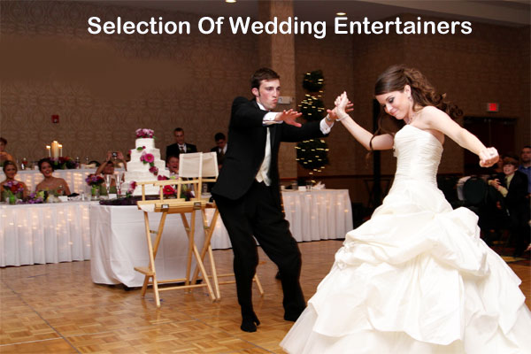 Selection Of Wedding Entertainment