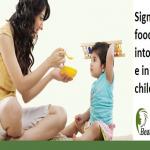 Signs Of Food Intolerance In Children