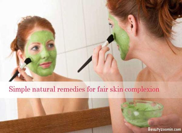 natural remedies skin