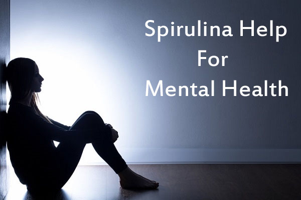 Spirulina help for mental health
