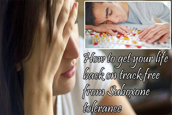 Suboxone tolerance
