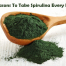 Take Spirulina