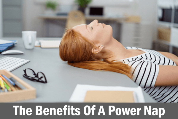 Benefits Of-A Power Nap