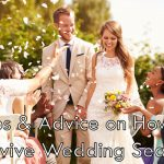 Tips & Advice on How to Survive Wedding Season