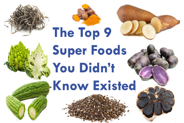 Top 9 Super Foods