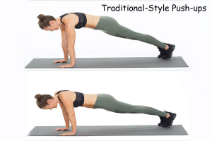 Traditional Styled Push-ups