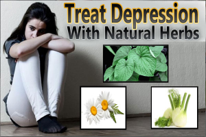Treat Depression With Natural Herbs