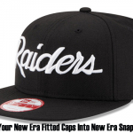 Turn Your New Era Fitted Caps Into New Era Snapbacks!