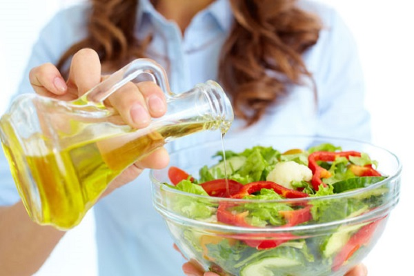 Use oil in your salads