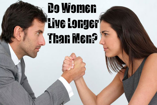 Women Live Longer Than Men
