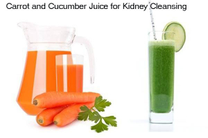 carrot juice for Kidney Cleansing