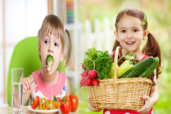 child eat healthily