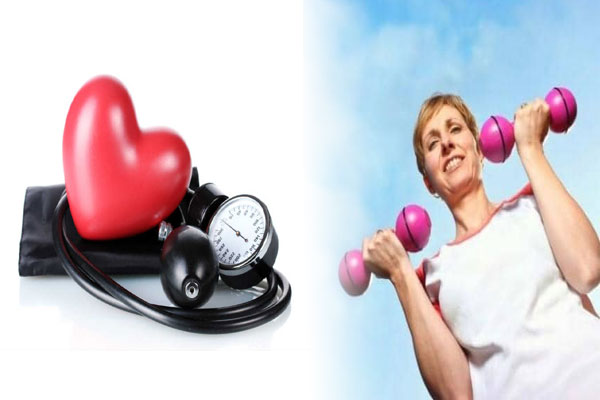 exercise reduces blood pressure